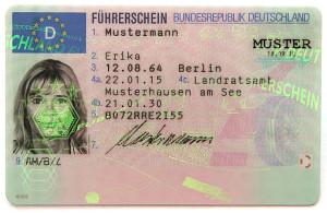 EU Fuehrerschein DE