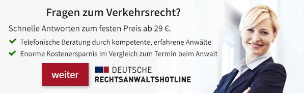 Deutsche RA Hotline MPU Recht prüfen lassen