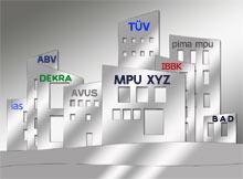 MPU Stellen in Deutschland